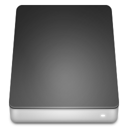 Hard, drive, disk icon
