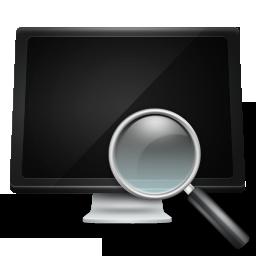 Search Computer Icon