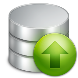 Database Upload Icon