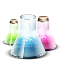 chemistry, lab, research, test, tubes, vials icon