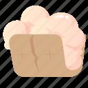 bread, dessert, food, frozen, ice cream icon