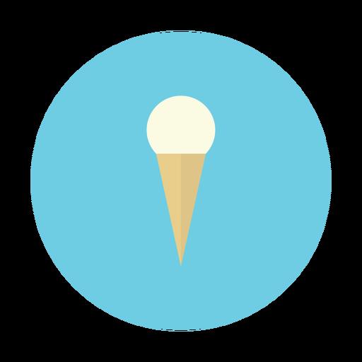 cone, cream, dessert, ice, vanilla icon