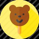 bear, food, ice cream, ice pop, summer, sweets icon