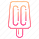 food, ice, pops, popsicle, popsicles, stick, summer icon