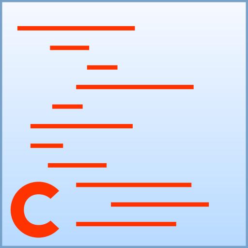 c, code icon
