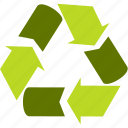 arrow, circle, cycle, ecology icon