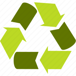 arrow, circle, cycle, ecology icon
