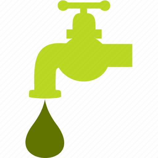 drop, faucet, plumbing, tools, water icon