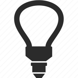 bulb, ecology, electricity, energy, light icon