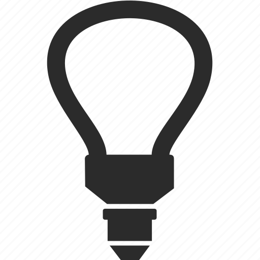 bulb, ecology, electricity, energy, light icon