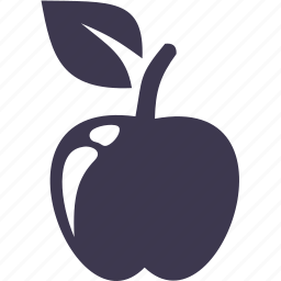 apple, food, fruit, meal, nature, plant icon