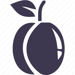 food, fruit, meal, nature, peach, plant icon
