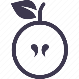 apple, food, fruit, meal, nature, plant, vitamin icon