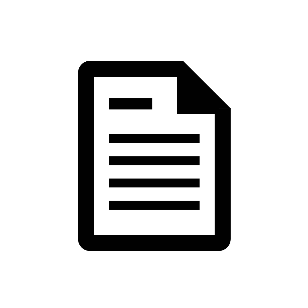 Document, file, page, paper icon | Icon search engine