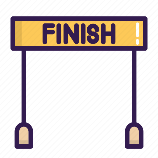 Finish, line, race, sport icon - Download on Iconfinder