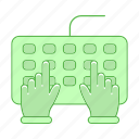 development, keybord icon