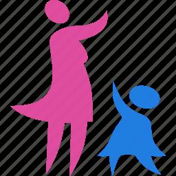 baby, child, family, kid icon