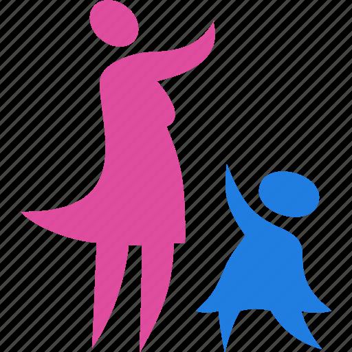 Baby Child Family Kid Icon