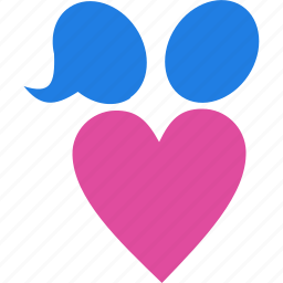 family, heart, love, romance icon