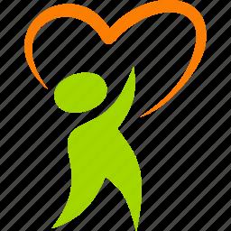 baby, child, family, heart, kid, love, valentine icon