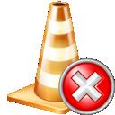 close, cone icon