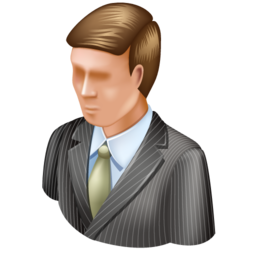 administrator, business mac, man, user icon