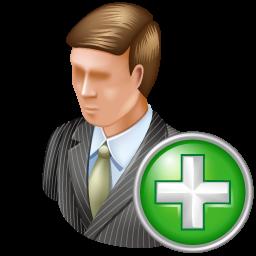 add, administrator icon