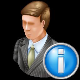 administrator, info icon