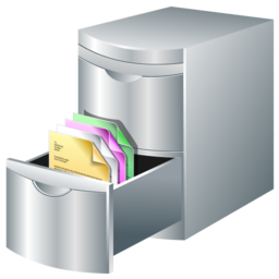 document, leads, storage icon