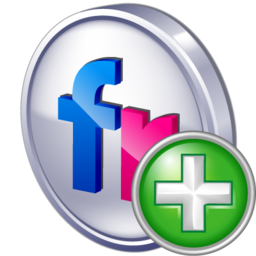 add, flickr icon