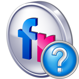 flickr, help icon