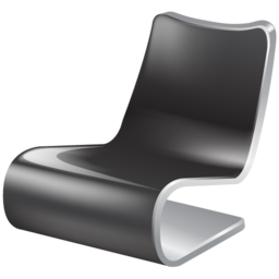 chair, wait icon