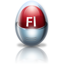 adobe, egg, flash icon