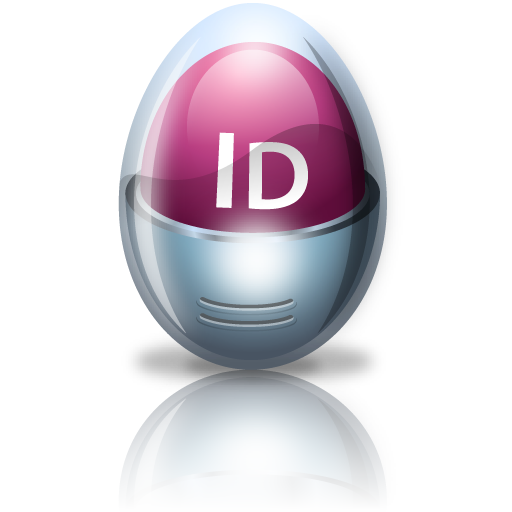 adobe, egg, indesign icon