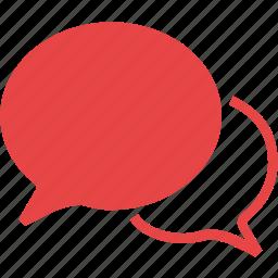 bubbles, comment, comments, discuss, discussion icon