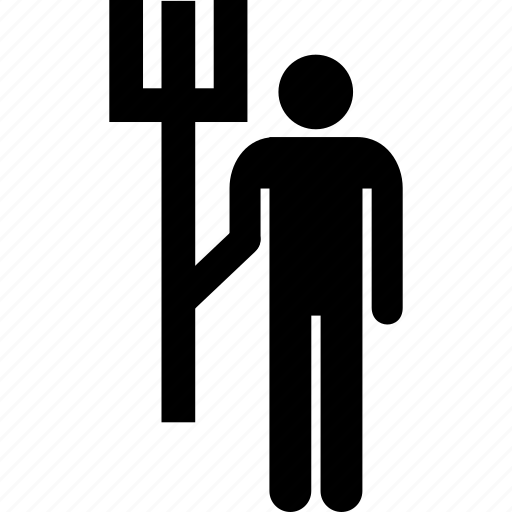 Farmer, job, task, work, agriculture, builder, employee icon - Download on Iconfinder