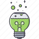 bulb, creative, experiment, flask, idea, lab, laboratory icon
