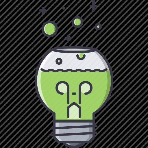 bulb, creative, experiment, flask, idea, lab, laboratory icon