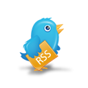 bird, rss, twitter icon
