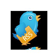 bird, rss, twitter icon
