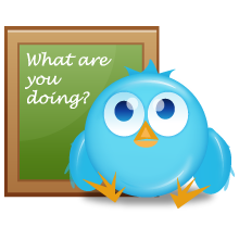 8, bird, twitter icon