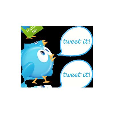 10, bird, twitter icon