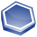 area, blue icon