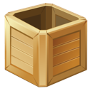 box, wooden icon