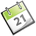 calendar, date, green