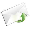 email, upload icon