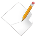 file, write icon