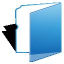 blue, folder