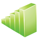 graph, green icon