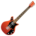 guitar, red icon